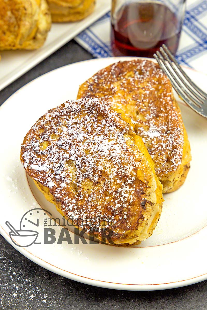 A french toast made for pumpkin spice and cheesecake lovers