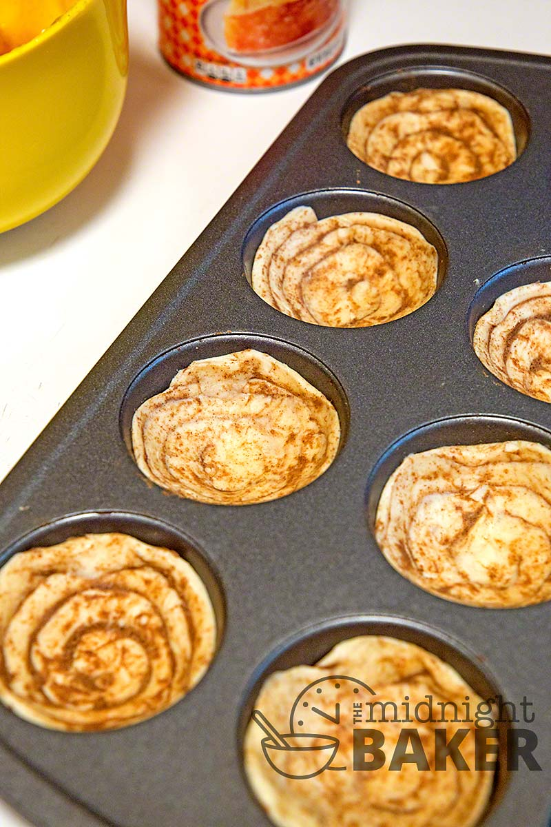 These individual apple pies are made with convenience ingredients. Whip them up in no time.