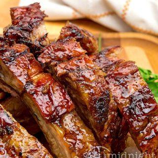 Honey tamarind ribs