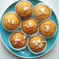Shredded Orange Cupcakes