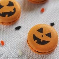 Spiced Pumpkin Macarons