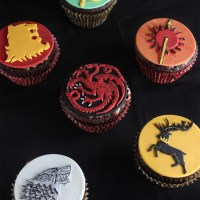 Game of Thrones Sigil Cupcakes