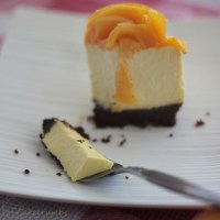 Mango Rose Cheesecake