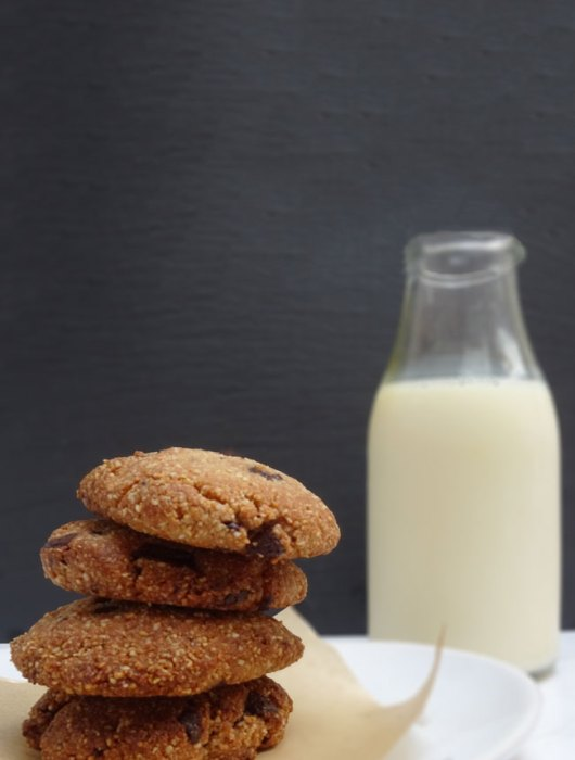 healthy vegan almond flour cookie recipe