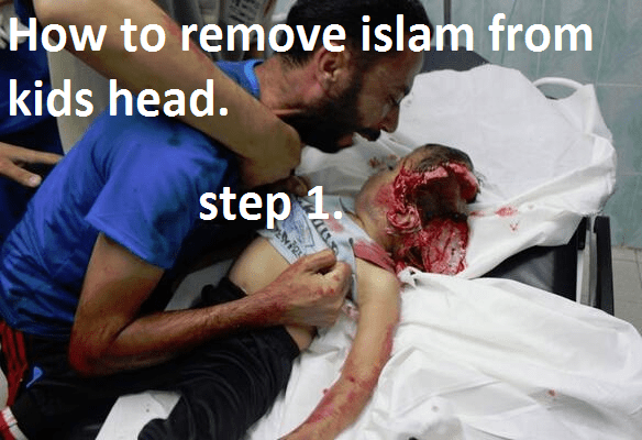 how to remove islam from kids head