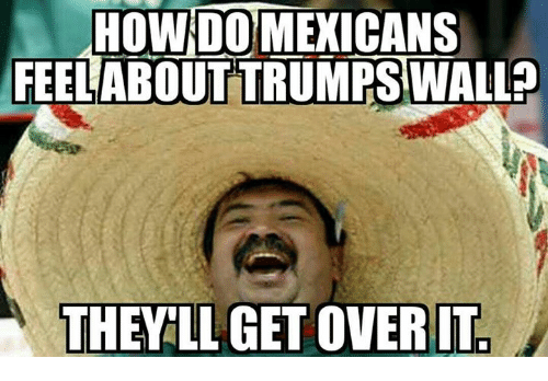 how do mexicans feel about the wall
