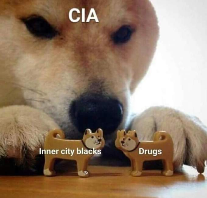 cia inner city blacks and drugs