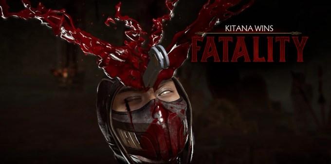 Mortal Kombat 11 - Kitana Game play