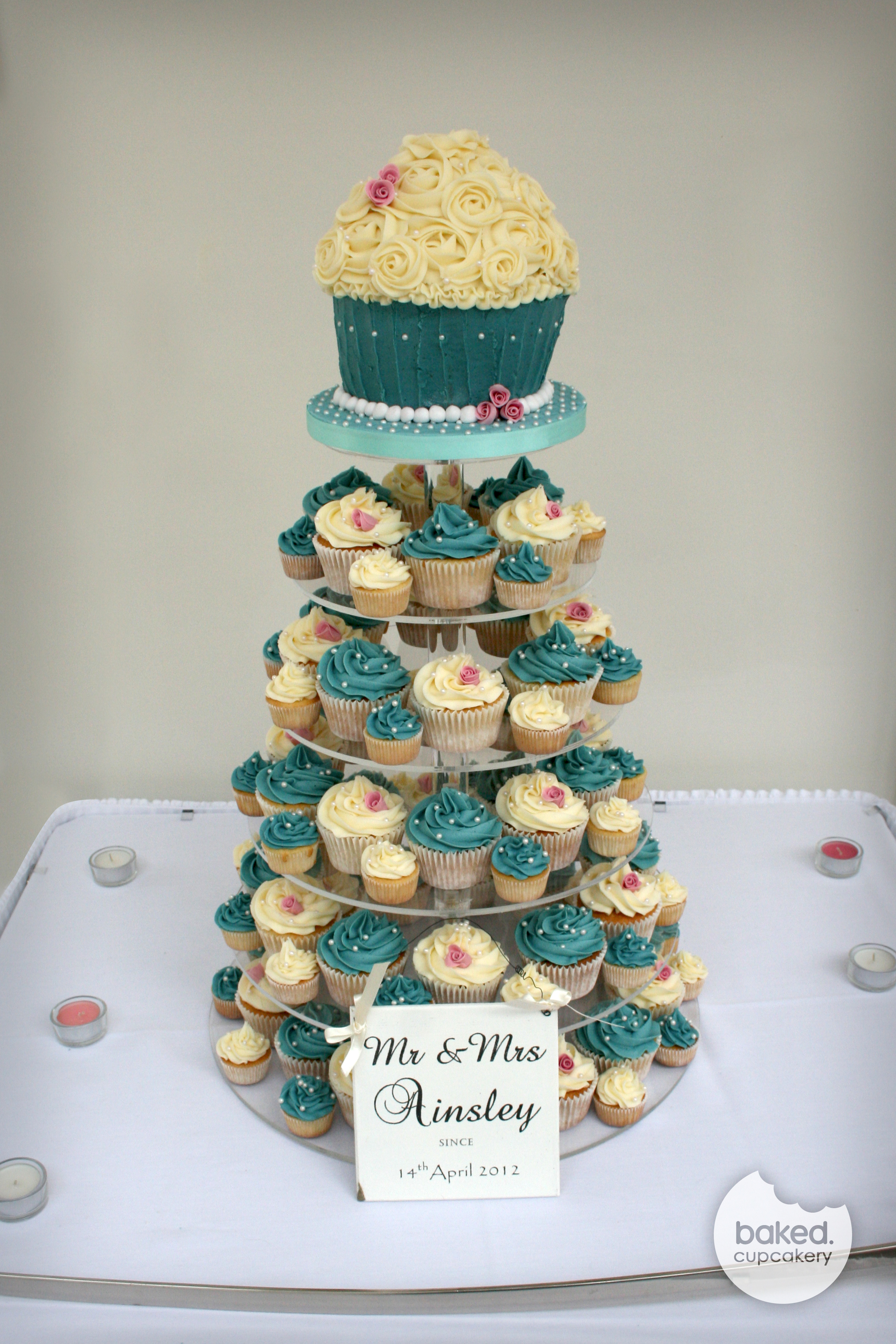 Wedding cupcakes  Baked