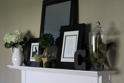 Easter Mantle & a Printable!!!!