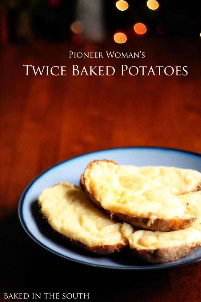 Pioneer Woman's Twice Baked Potatoes