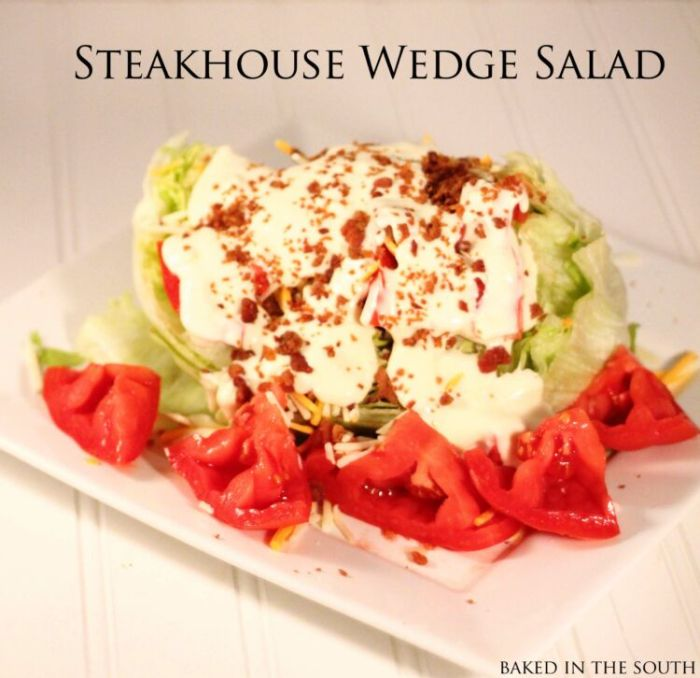 Steakhouse Wedge Salad