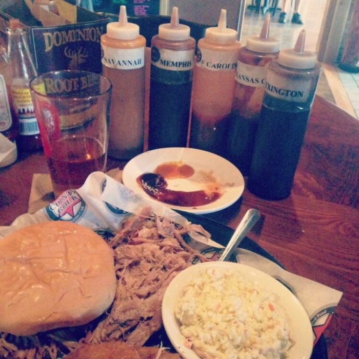 County Grill Pulled Pork Sandwich