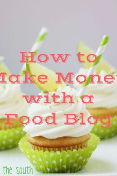 How to Make Money with a Food Blog