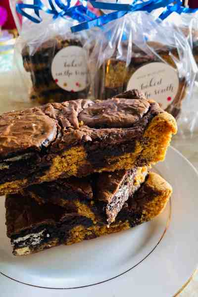 Easy Slutty Brownies