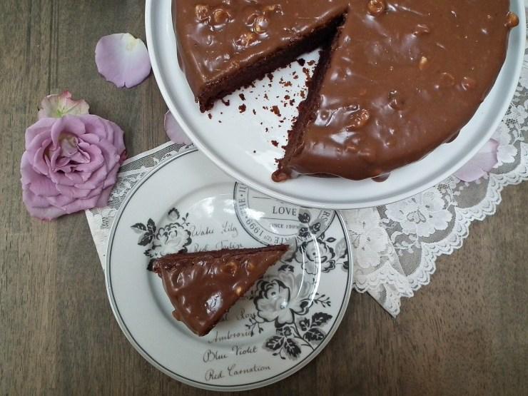 firkløver_firkløverkake_sjokoladekake_sjokolade_kake_sjokoladeglasur_oppskrift_bakemagi_4