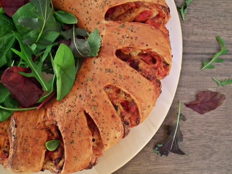pizza_pizzablomst_pizzakrans_pizzawreath_pizzasnurrer_oppskrift_bakemagi_5