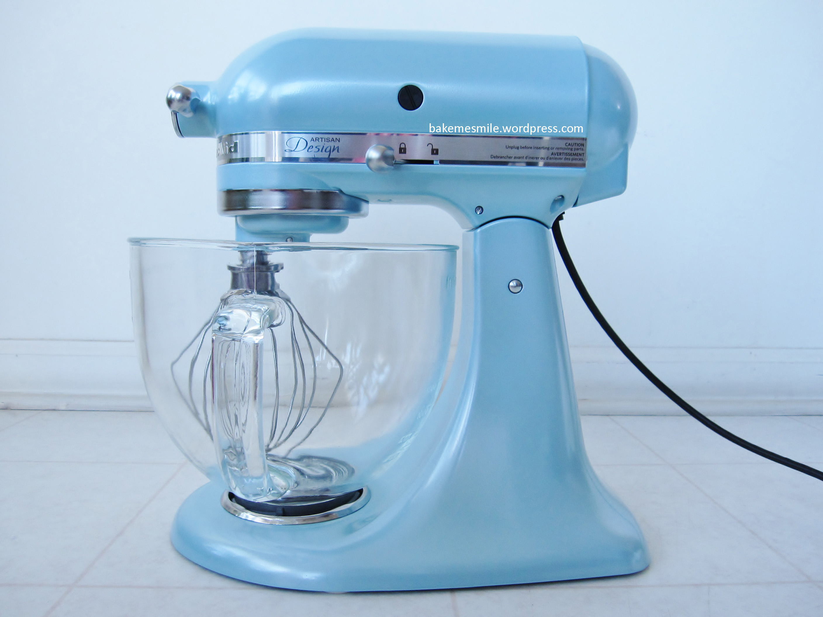 KitchenAid Stand Mixer Azure Blue  bake me smile