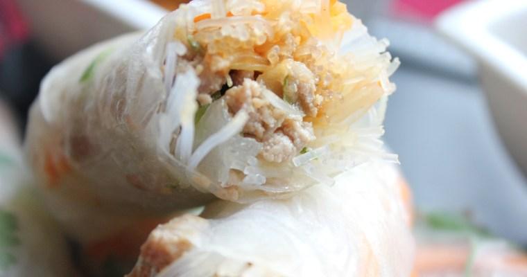 Thai rolls my way