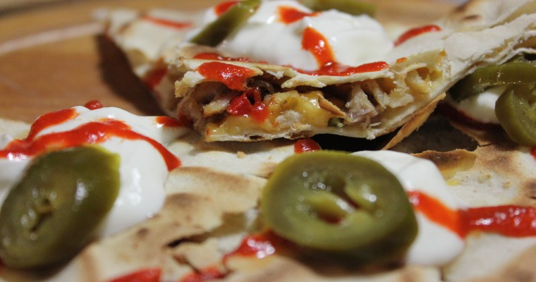 Easy Peasy Homemade Quesadillas