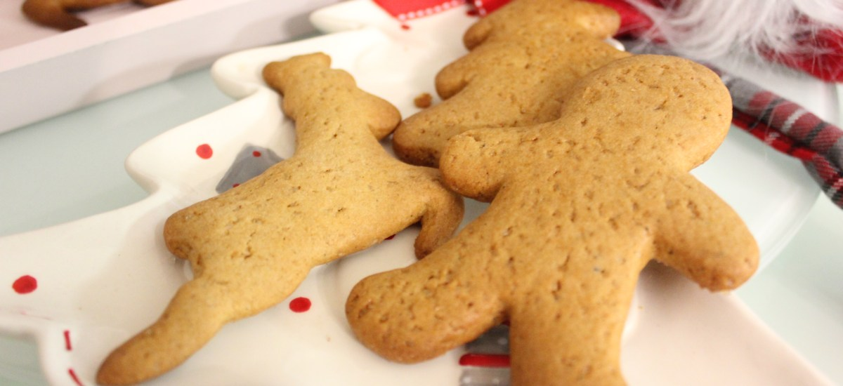 Gingerbread cookies- aka sugar, spice and everything nice
