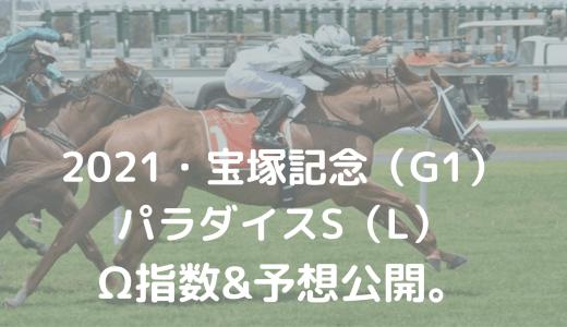 2021・宝塚記念(G1)&パラダイスS(L)・Ω指数&予想公開。