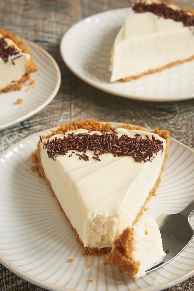 No-Bake Irish Cream Cheesecake | Bake or Break