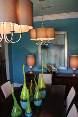 Allen, Texas Interior Designer - Dining Room