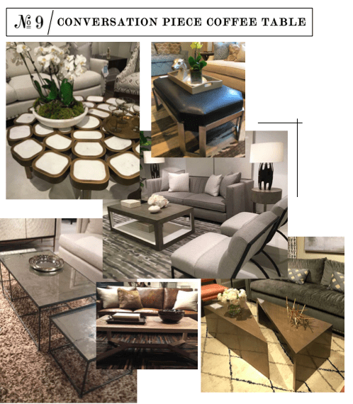 coffee table trends interior design