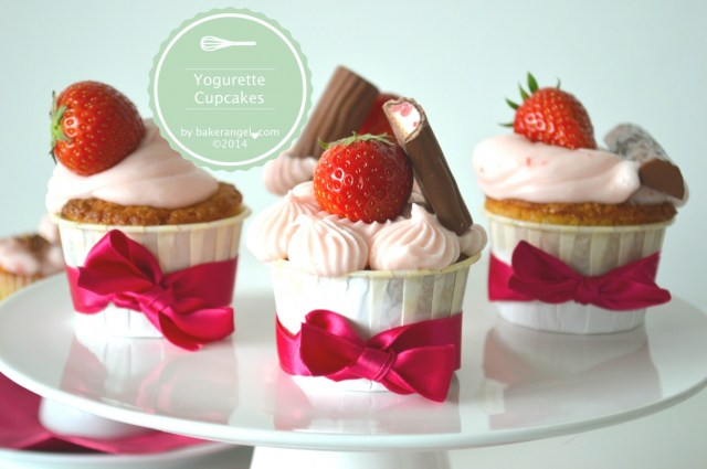 Yogurette Cupcakes by bakerangel.com