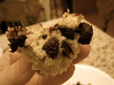 Chocolate Chip Coffee Cake Muffins with Pecan Streusel Topping