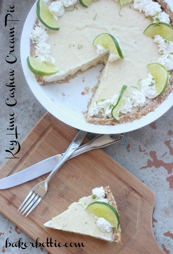 Raw Key Lime Pie