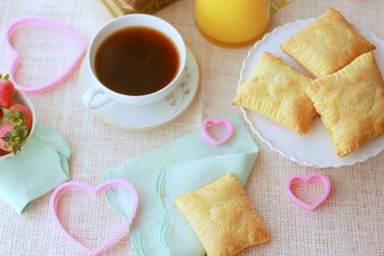 Strawberry Breakfast Pastries