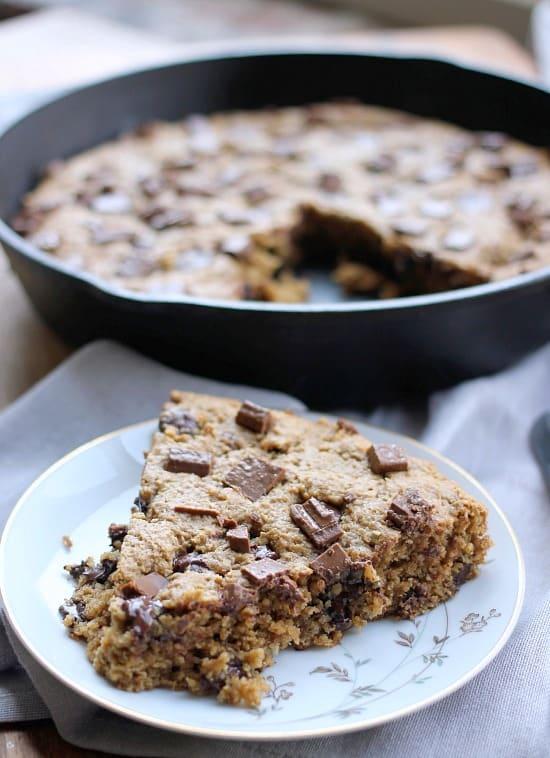 Wheat Free Vegan Cookie Recipe: Skillet Cookie- Baker Bettie