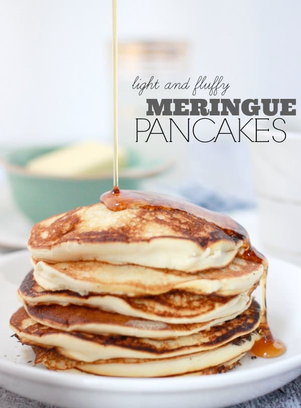 Fluffy Meringue Pancakes: Pancake Recipe Without Baking Powder- Baker Bettie