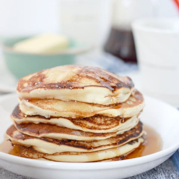 Light and Fluffy Meringue Pancakes