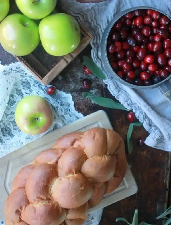 Cranberry Apple Brown Betty- Baker Bettie