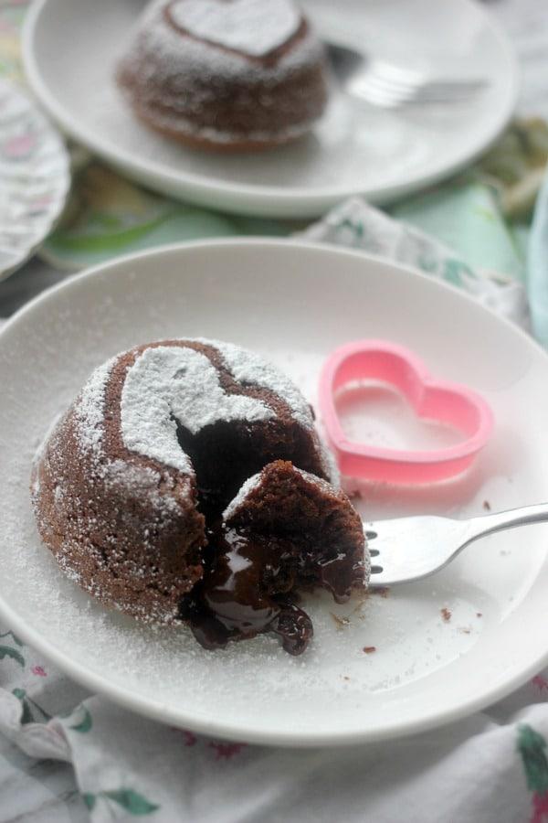 Molten Chocolate Lava Cake | Baker Bettie