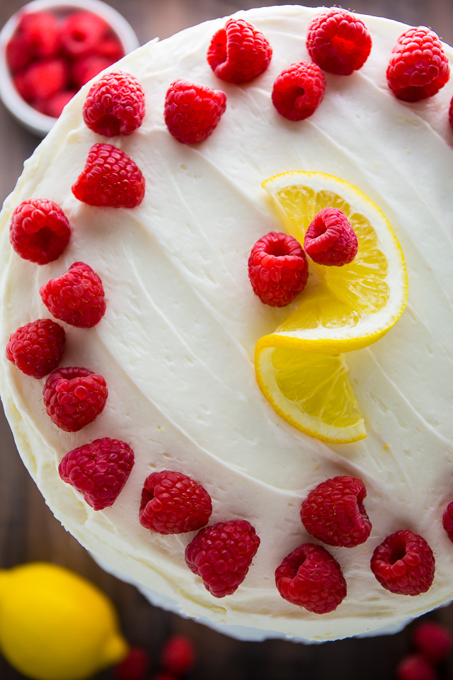 Lemon Raspberry Cake Baker By Nature