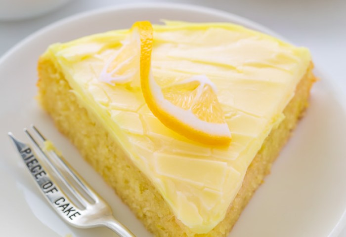 Lemon Cake With Lemon Cream Cheese Frosting Baker By Nature
