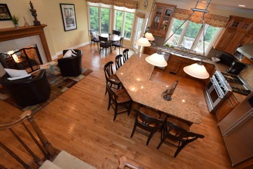 Kitchen from Rear Stairway