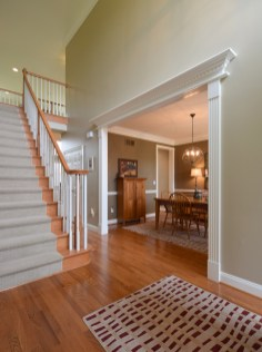 2 Story Front Foyer