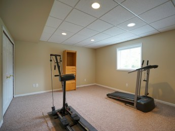 Bedroom 3 or Exercise Room
