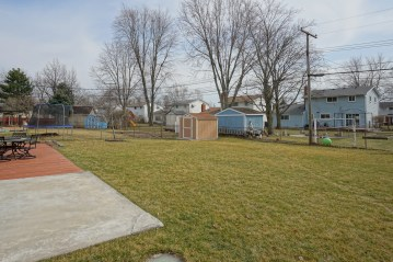 Fenced Yard with Shed