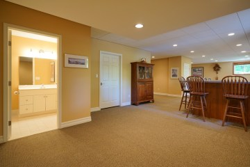 Spacious Finished Lower Level