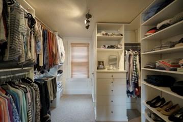 Master Walk-in Closet