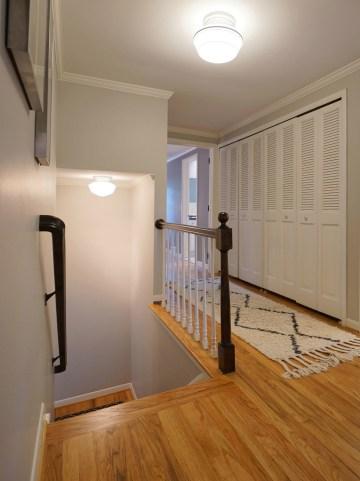 Upstairs Landing - Original Oak Flooring Upstairs