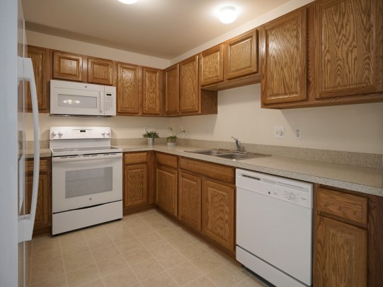 Plentiful Cabinetry and Counters