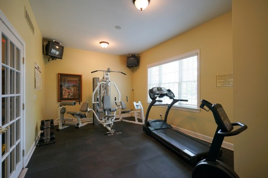 Fitness Room at Clubhouse