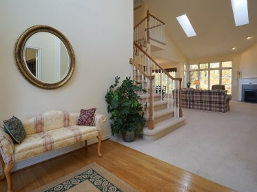 2 Story Foyer to Great Room